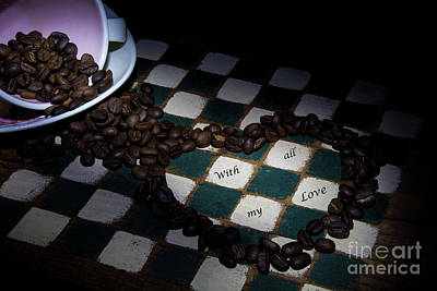 Photograph - Coffee In The Cup by Deborah Klubertanz