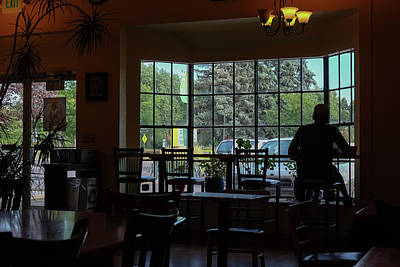 Photograph - Coffee In The Shadows  by Monte Stevens