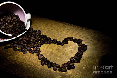 Photograph - Coffee Is Where The Heart Is by Deborah Klubertanz