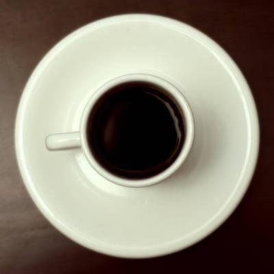 Coffee Art Print by John Gusky