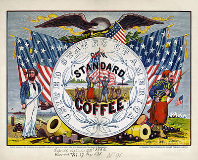 Coffee Label, C1862 Art Print by Granger