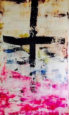 Crisis Mixed Media - Coffee  by Marianna Skoundridakis