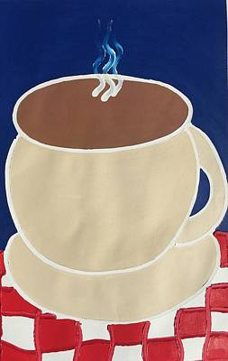 Painting - Coffee by Matthew Brzostoski