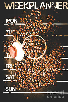 Fun Art Wall Art - Photograph - Coffee On The Menu by Jorgo Photography - Wall Art Gallery