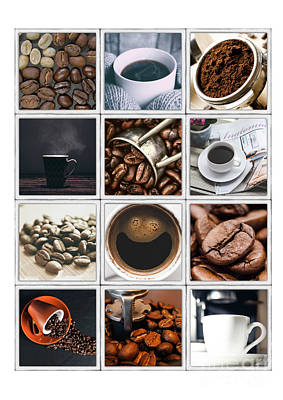 Photograph - Coffee Poster by Edward Fielding