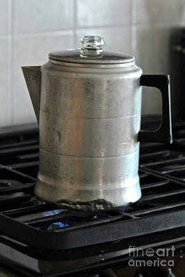Photograph - Coffee Pot by Ann E Robson