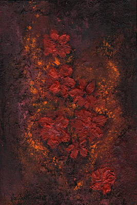 Painting - Coffee Rose by Rae Ann  M Garrett