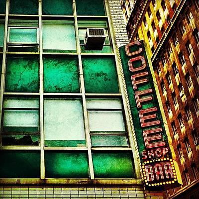 City Scenes Photograph - Coffee Shop Bar by Luke Kingma