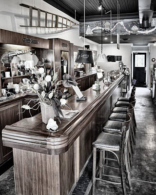 Photograph - Coffee Shop by Greg Jackson