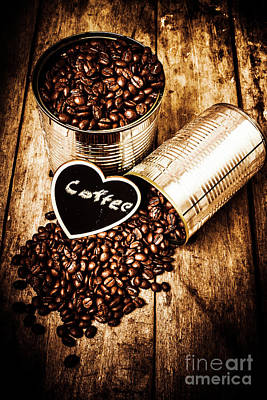Organic Photograph - Coffee Shop Love by Jorgo Photography - Wall Art Gallery