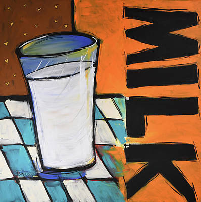 Painting - Coffee Shop Milk by Terri Einer