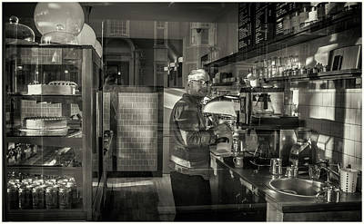 Photograph - Coffee Shop by Stewart Marsden