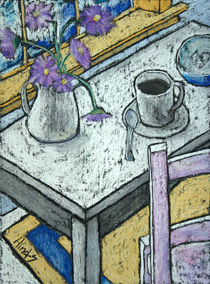 Flowers Drawing - Coffee Still Life by David Hinds