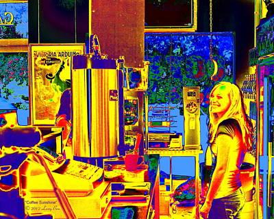 Digital Art - Coffee Sunshine by Larry Beat