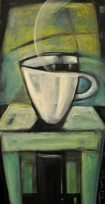 Painting - Coffee. Table. 2 by Tim Nyberg