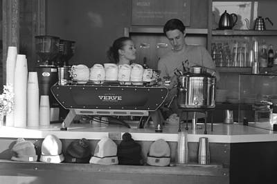 The Verve Photograph - Coffee Time by Amanda Browning