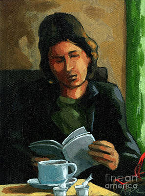 Painting - Coffee Time by Linda Apple