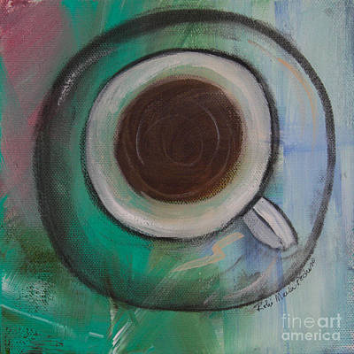 Painting - Coffee Time by Robin Maria Pedrero