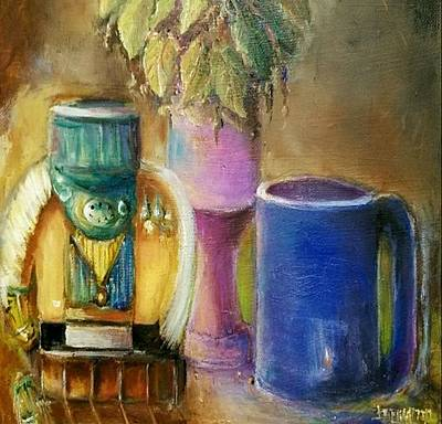 Painting - Coffee Time - Still Life by Bernadette Krupa