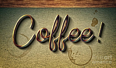 Photograph - Coffee - Version 1 by Mary Machare