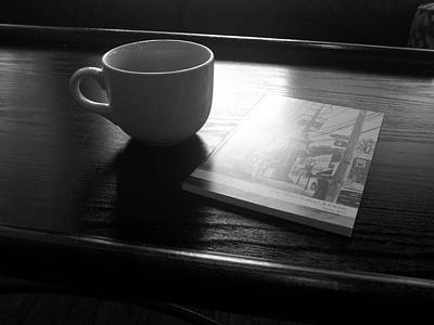 Photograph - Coffee by Victor Wiebe