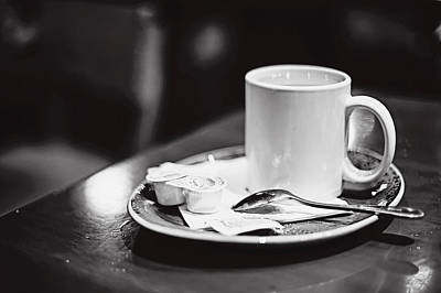 Photograph - Coffee With Cream by April Reppucci