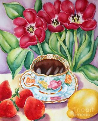 Painting - Coffee With Flavour by Inese Poga