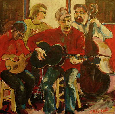 Painting - Coffeehouse Combo by Todd  Peterson
