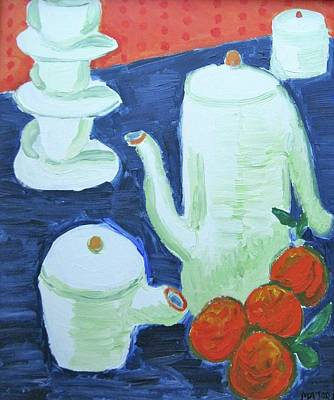 Painting - Coffeepot by Clarence Major