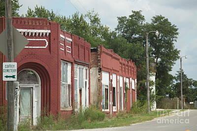 Photograph - Coffey, Missouri by Anthony Cornett