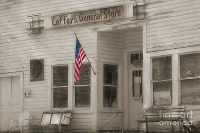 Coffey's General Store Art Print by Benanne Stiens