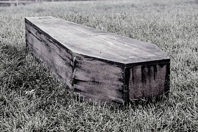 Photograph - Coffin by Pamela Williams