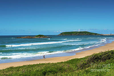Photograph -  Coffs Harbour Park Beach by Andrew Michael