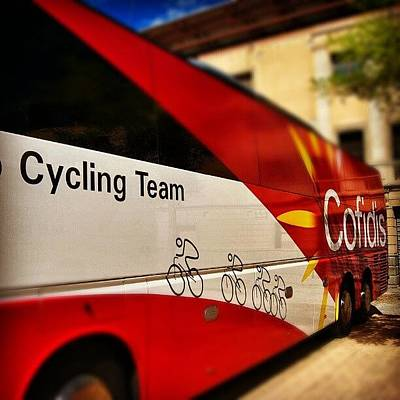 Cycling Wall Art - Photograph - #cofidis #cycling # Team by Jorge Vargas