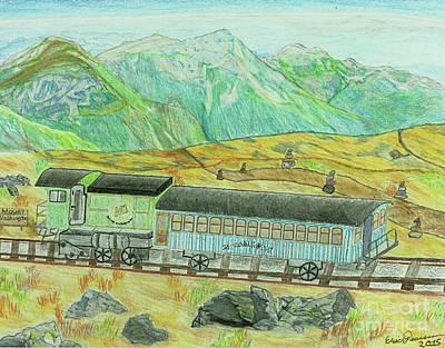 Cog Rail Mt Washington Original by Eric Pearson