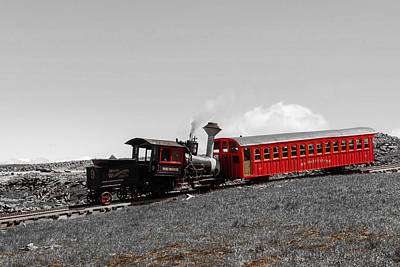 Photograph - Cog Railroad by Sherman Perry