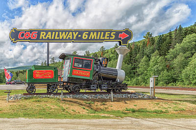 Photograph - Cog Railway 6 Miles by Brian MacLean