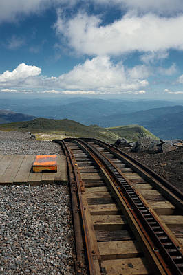 Photograph - Cog Railway Stop by Lawrence Boothby