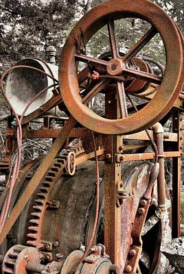 Photograph - Cogs And Wheels by JAMART Photography