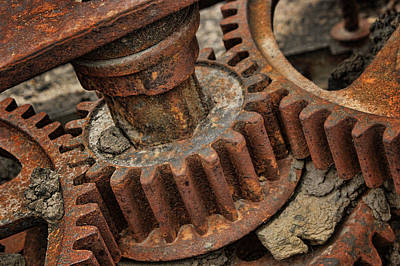 Photograph - Cogs by Nikolyn McDonald