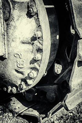 Photograph - Cogs Of Dust And Determination by John Williams