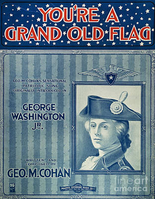 Old Sheet Music Photograph - Cohan: Sheet Music, 1906 by Granger