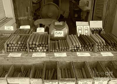 Sepia Photograph - Cohiba by Debbi Granruth