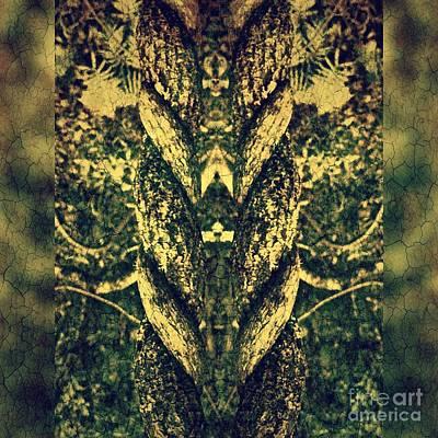 Brunch Digital Art - Coil # 3/3 by Jolanta Bibianna Maciolek