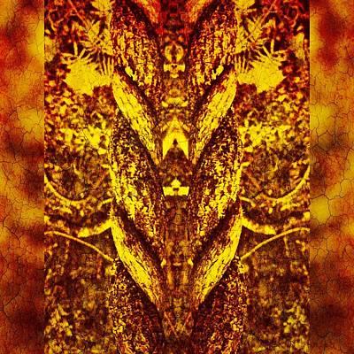 Brunch Digital Art - Coil #1/3 by Jolanta Bibianna Maciolek
