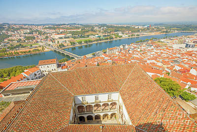 Photograph - Coimbra Aerial View by Benny Marty