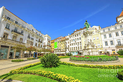 Photograph - Coimbra Historic Center by Benny Marty