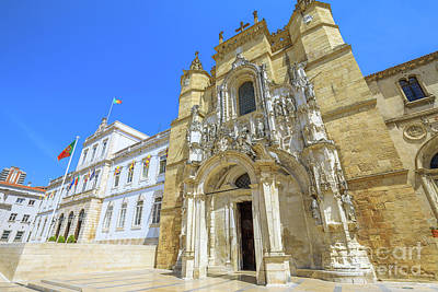 Photograph - Coimbra Historic City by Benny Marty