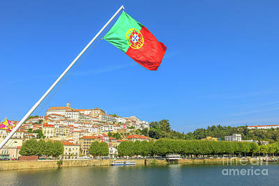 Photograph - Coimbra Skyline Portugal by Benny Marty