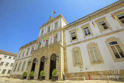 Photograph - Coimbra Town Hall by Benny Marty